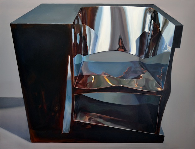 """7/30 Sessel"" 2015, Acryl auf Leinwand, 100 x 130 cm"