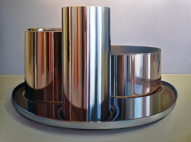 """MAK Stillleben"" 2014, Acryl auf Leinwand, 135 x 180 cm"