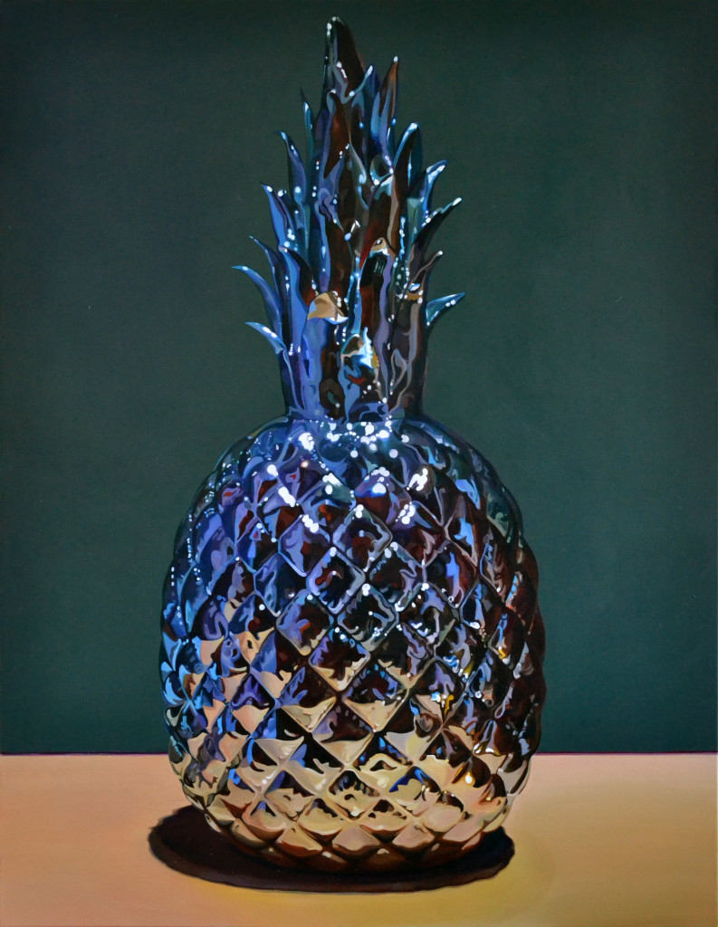 """Pols Potten Ananas"" 2018, Acryl auf Leinwand, 160 x 125 cm"
